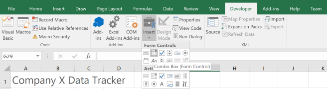 HOW TO… Excel: Create a Dynamic Data Table Using INDIRECT and Combo